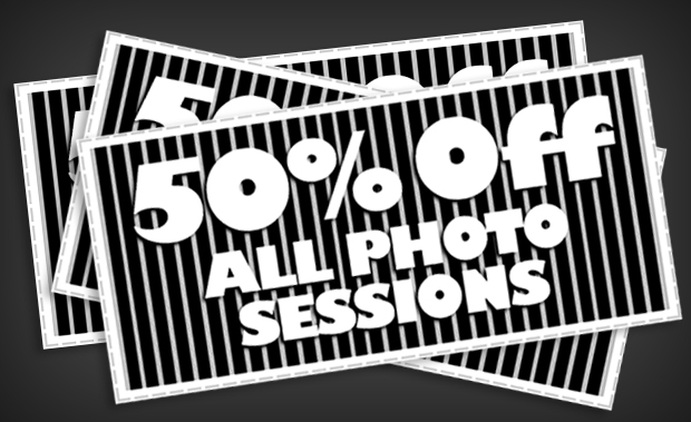 50% Off All Summer Photo Sessions