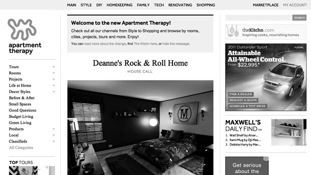 Yayy We Were Featured On Apartment Therapy!