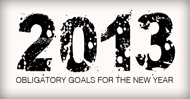 Obligatory Goals For The New Year Take 2
