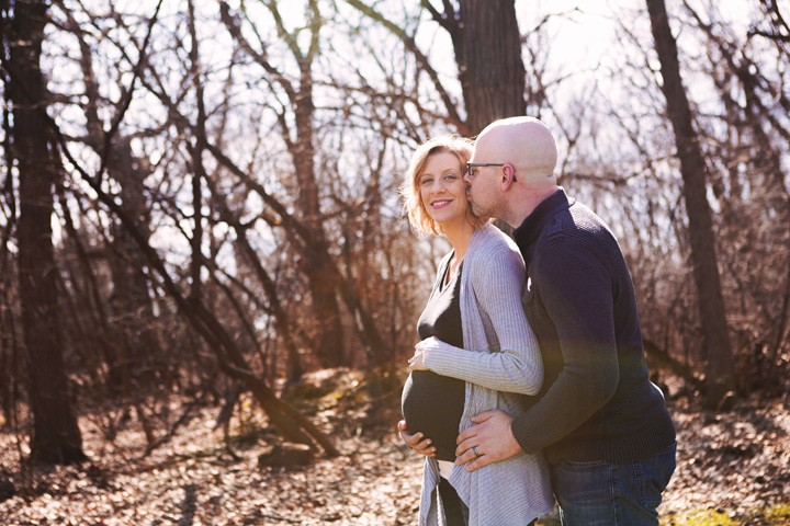 Kelly & Mike – A Maternity Session